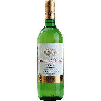 SEÑORIO DE HELICHE Vino blanco semiseco de Andalucía Botella 75 cl