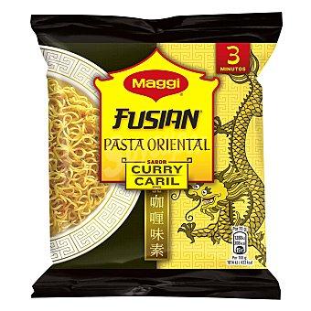 Maggi Pasta oriental sobre (preparado alimenticio harina trigo) sabor curry Fusian 71 gramos
