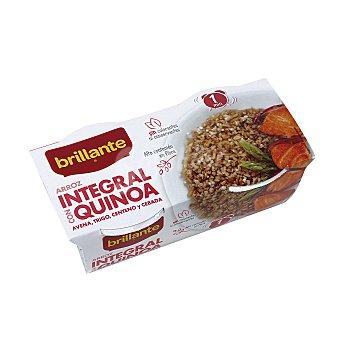 Brillante Arroz integral con quinoa Paquete de 2 x 125 g