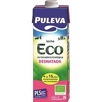 Puleva Leche desnatada ecológica 1 l