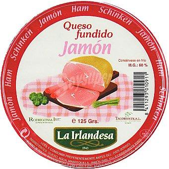 La Irlandesa Crema de queso fundido con jamón para untar Tarrina 125 g