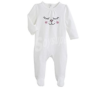 In Extenso Pijama pelele largo interlock para bebé talla 92