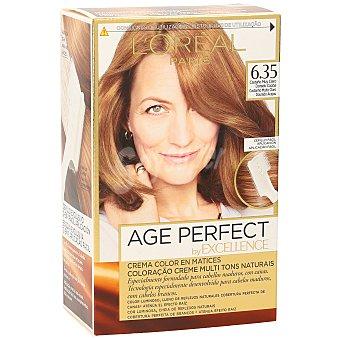 Excellence L'Oréal Paris Tinte age perfect nº 6.35 Castaño Muy Claro Dorado Caoba Caja 1 ud