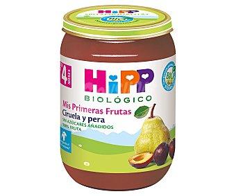 HiPP Biológico Tarrito de fruta (ciruela y pera) a partir de 4 meses 190 g