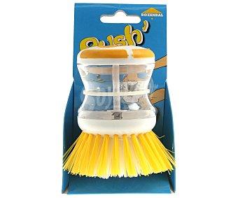 Rozenbal Cepillo para vajilla con depósito para el jabón 1 unidad