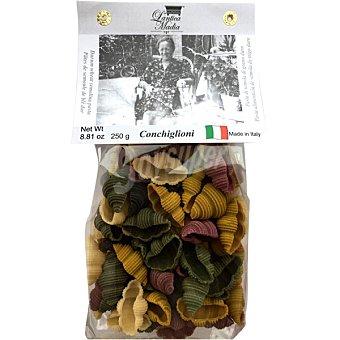 Lantica madia Conchiglioni 5 colores  paquete 250 g