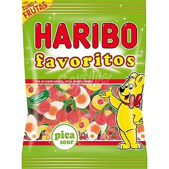 HARIBO Favoritos Regaliz pica sour Bolsa 150 g