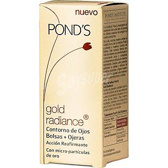 POND'S Gold Radiance Crema contorno de ojos con microparticulas de oro acción reafirmante Envase 15 ml