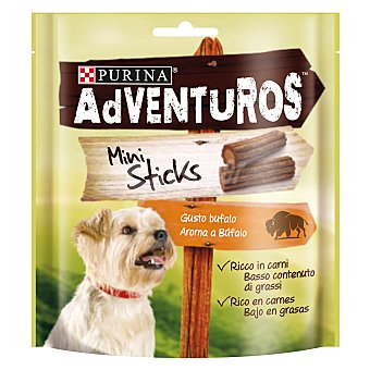 Friskies Purina Adventuros mini sticks Paquete de 90 g