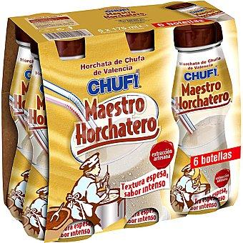 Chufi Horchata de chufa de Valencia pack 6x175 ml estuche 1050 ml Pack 6x175 ml