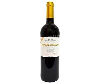 BODEGAS DE ABALO Vino tinto reserva Botella de 75 Centilitros