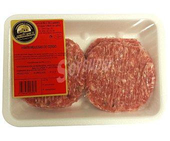 ALMERICARNE Burger Meat de cerdo 495 Gramos
