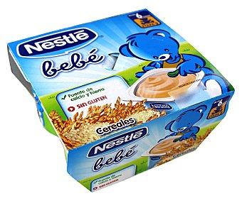 Nestlé Yogur de cereales Bebé Pack 4x100 g