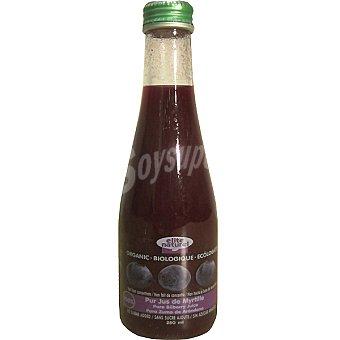 ELITE NATUREL Puro zumo de arándano ecológico Envase 250 ml