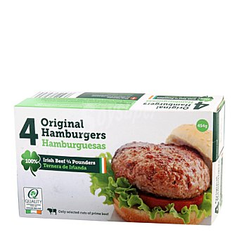 Dawn meat Hamburguesas quarter pounders 454 g