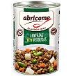 Lentejas con verduras 420 g Abricome
