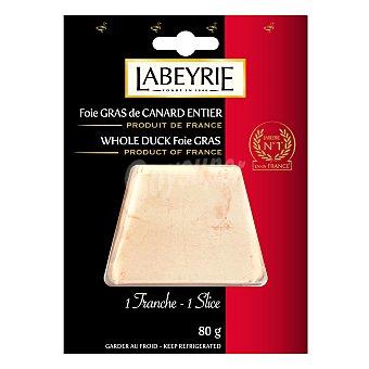 Labeyrie Foie gras de pato entero 80 g
