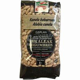 Euskal Baserri Alubia canela garlan Paquete 1 kg