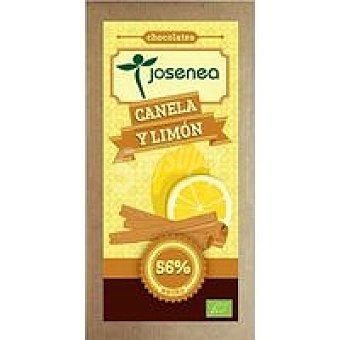 JOSENEA Chocolate con canela-limón Tableta 100 g