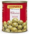 Aceitunas verdes rellenas de anchoa Lata de 345 gramos La Española