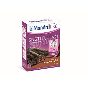 Bimanan Batonnets Chocolate 6 Unidades x 31 Gramos