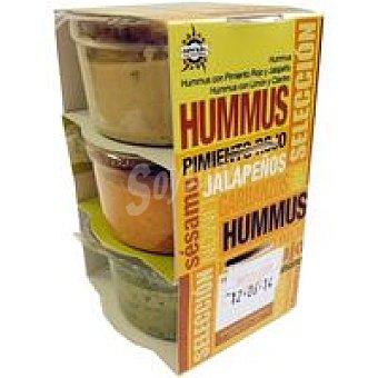 OREXIS Hummus Variado 3x70 G