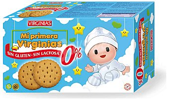Virginias Galleta mi primera 180 g.