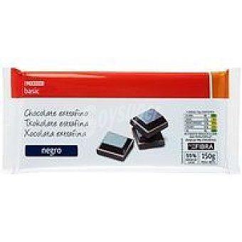 Eroski Basic Chocolate negro fondant Tableta 150 g