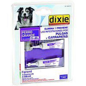 Dixie Pipetas Fipronil 20-40 kg Pack 2,68 ml