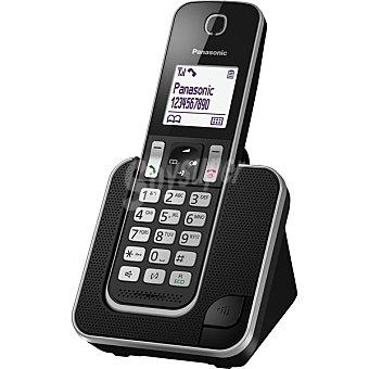 Panasonic  Teléfono Inalámbrico Single en color negro KX-TGD310 1 Unidad