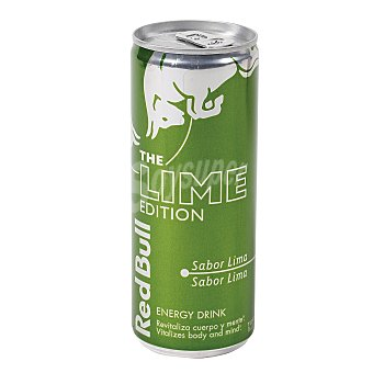 Red Bull Bebida energética the lime edition Lata 25 cl