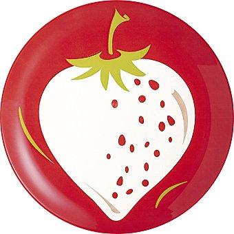 LUMINARC Fruit Energy Plato de postre fresa