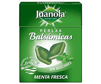 Juanola Perlas balsámicas, con sabor a menta y sin azúcares 25 g