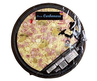 Auchan Pizza carbonara cocida en horno de piedra 400 gramos