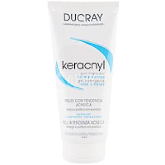 Ducray Keracnyl gel limpiador Tubo 200 ml