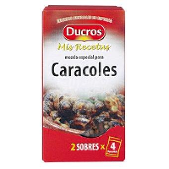 Ducros Sazonador caracoles Frasco 25 g