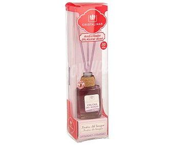 Cristalinas Ambientador de varillas con aroma frutas del bosque (optimismo) 18 mililitros