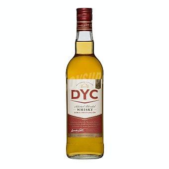 Dyc Whisky blended de 5 años y doble destilación, elaborado en España Botella de 70 cl