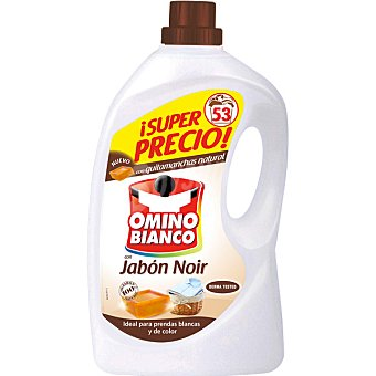 Omino Bianco Detergente máquina líquido Noir botella 53 dosis
