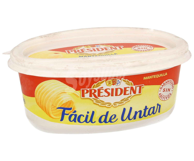 President mantequilla f cil de untar tarrina 250 g for Cuchillo para untar mantequilla