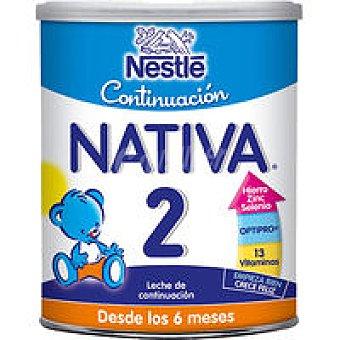 Nativa Nestlé Leche de continuación 2 Pack de 2 latas de 800 g
