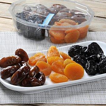 MIX Frutas secas (orejones, dátil y ciruela) Tarrina de 365 g
