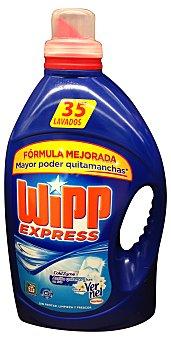 Wipp Express Detergente lavadora gel aroma vernel Botella 2310 cc, 35 lavados