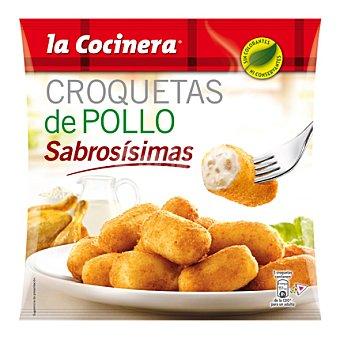 La Cocinera Croquetas de pollo Bolsa 500 g