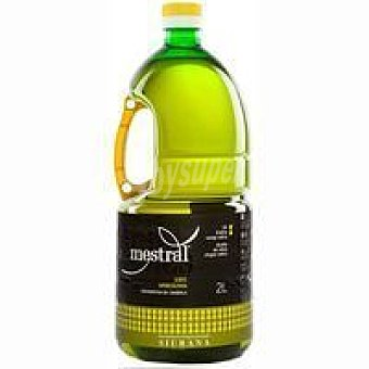 MESTRAL Aceite de oliva virgen extra Siurana Botella 2 litros
