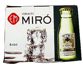 Miro Vermouth Blanco Botella 6 Centilitros