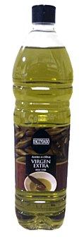 Hacendado Aceite oliva virgen extra tapon negro Botella 1 l