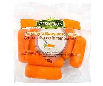 Fresquia Zanahorias baby con salsa de temporada 110 g