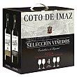 Lote 65: 2 botellas D.O. Ca. Rioja El Coto tinto crianza 75 cl. + 2 botellas D.O. Rioja Coto de Imaz tinto reserva 75 cl Pack 4 x 75 cl El Coto