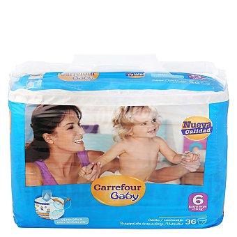 Carrefour Baby Braguitas de aprendizaje T6 + 16 Kg. 36 ud